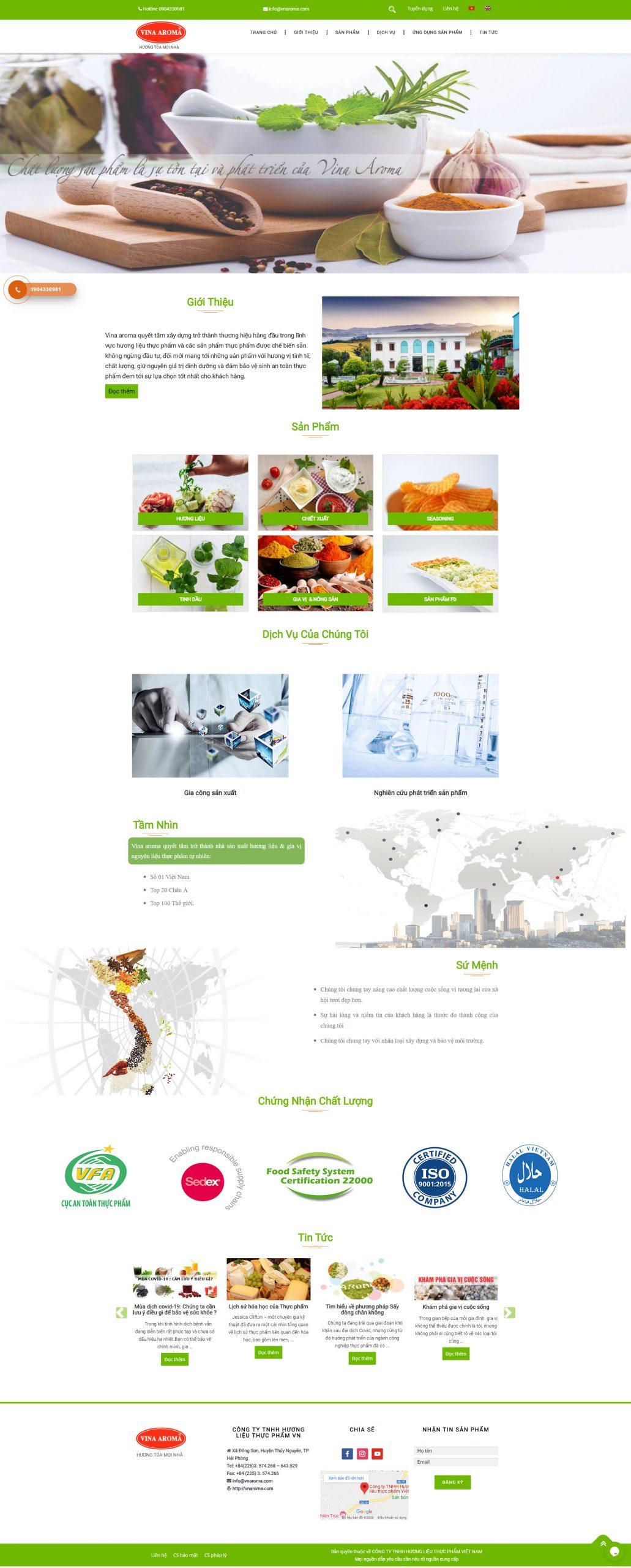 Giao diện mẫu thiết kế website công ty