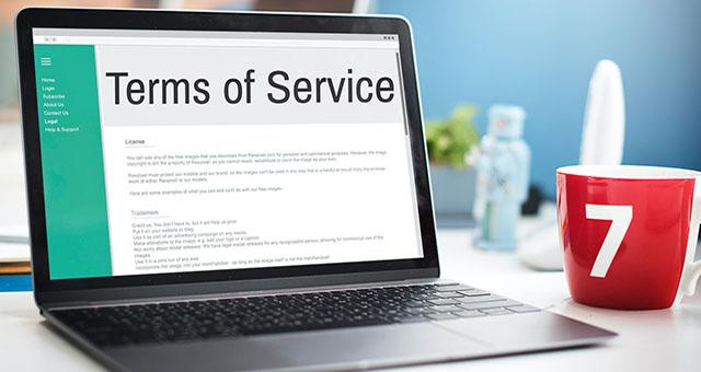 Thỏa thuận sử dụng Ứng dụng Website