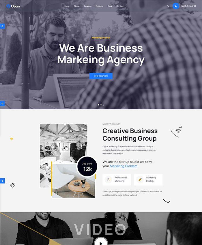 Thiết kế website in ấn quảng cáo 01
