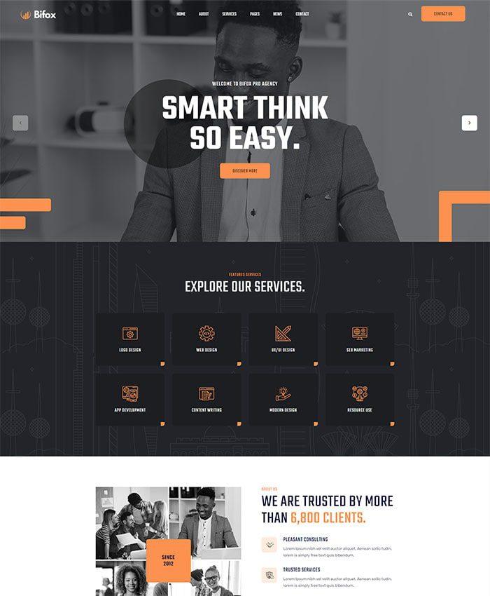 Thiết kế website công ty truyền thông 01