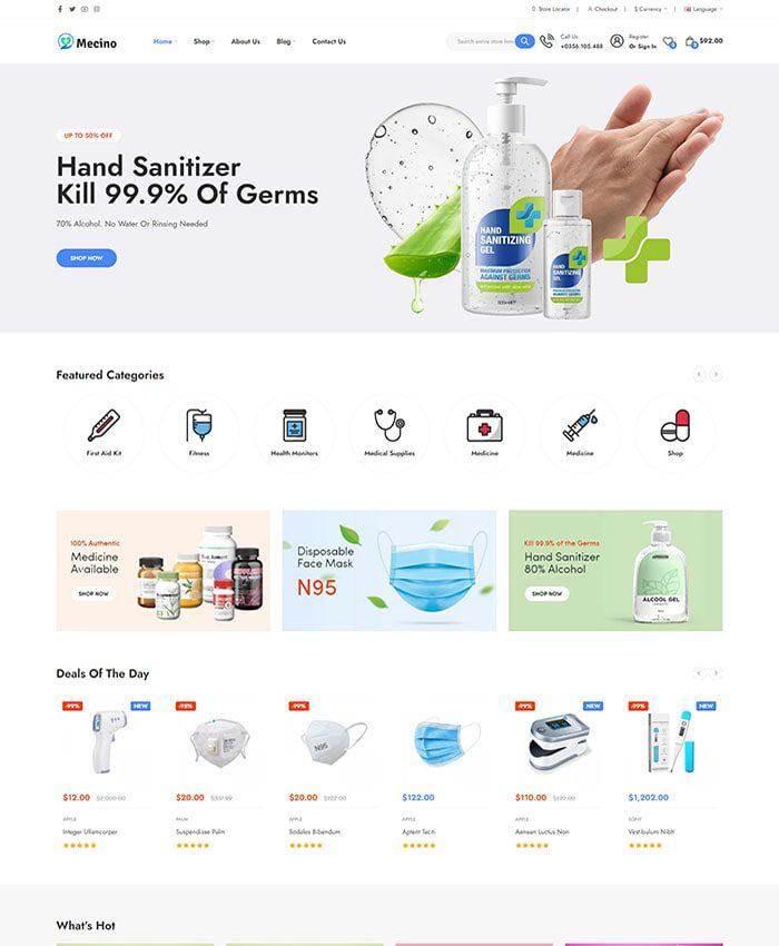 Website bệnh viện đẹp 01