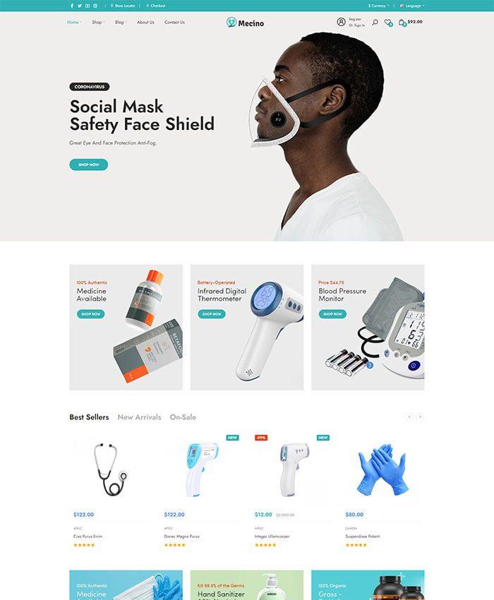 Website bệnh viện đẹp 04