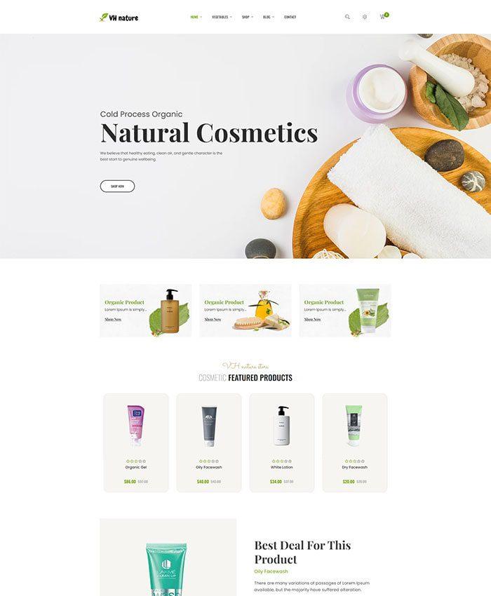 Thiết kế website bán thực phẩm, hoa quả nhập khẩu 04