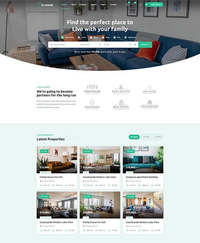 Thiết kế mẫu website đặt phòng, khách sạn 01