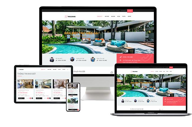 Điểm mấu chốt khi thiết kế web bất động sản chuyên nghiệp - Thiết kế responsive