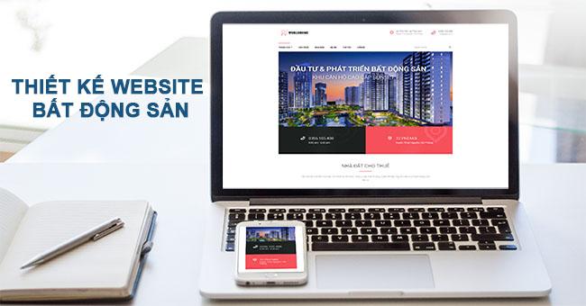 Thiết kế website bất động sản chuẩn SEO, tối ưu chi phí