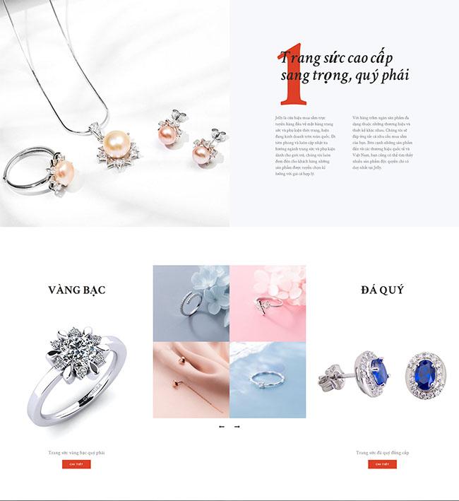 Thiết kế website thời trang 02