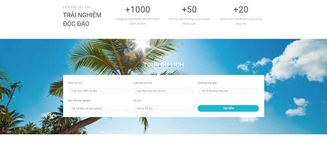 Chức năng cần thiết trong thiết kế website du lịch