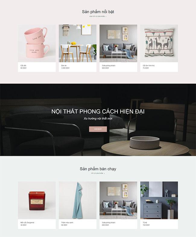 Dịch vụ thiết kế website nội thất chuẩn SEO