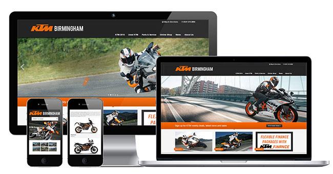 Thiết kế website bán xe máy nâng tầm thương hiệu