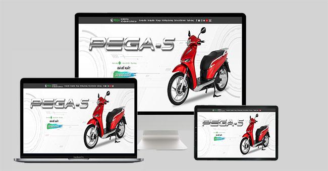 Thiết kế web mua bán xe đạp điện