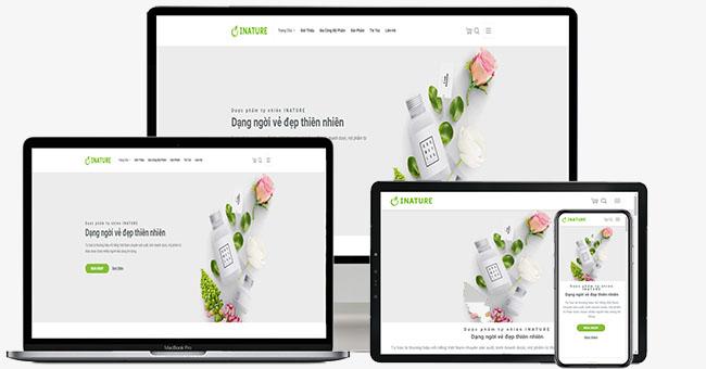 Thiết kế website bán mỹ phẩm giúp các chủ shop kiếm bộn tiền