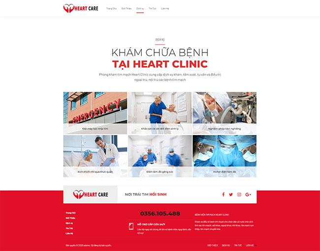 Tiêu chí cần thiết kế website bệnh viện