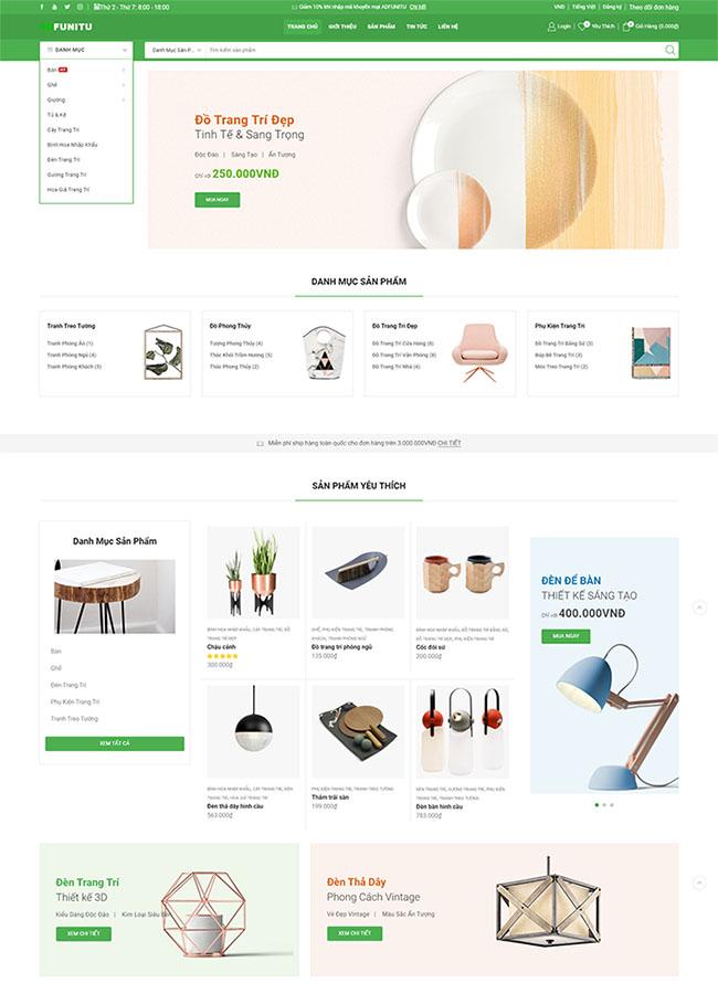 Tiêu chí thiết kế website nội thất chuyên nghiệp