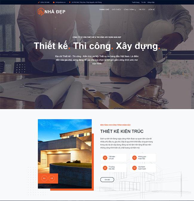 Những lưu ý khi thiết kế website công ty xây dựng