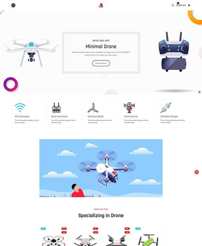 Thiết kế website điện máy đẹp 03