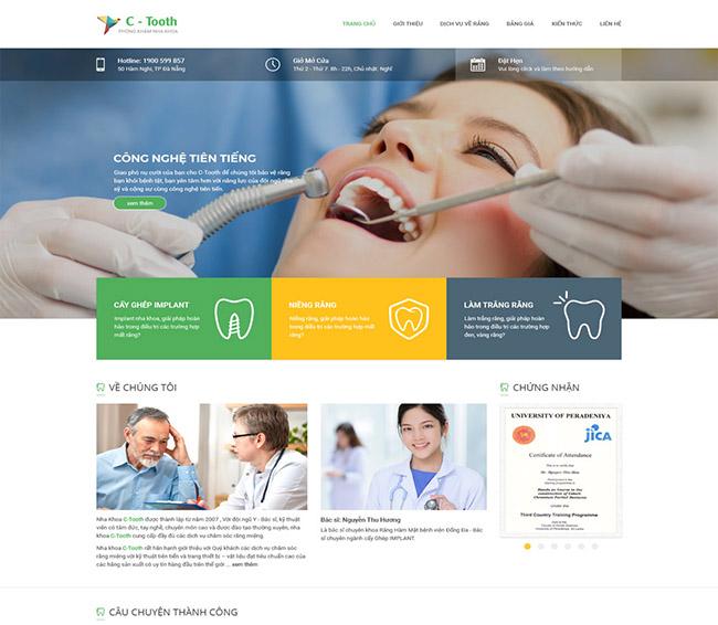Lợi ích của thiết kế website nha khoa