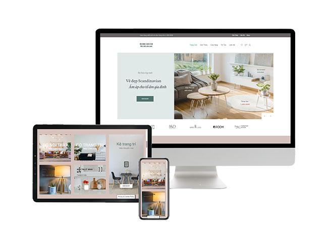 Thiết kế web bán hàng tăng trải nghiệm người dùng