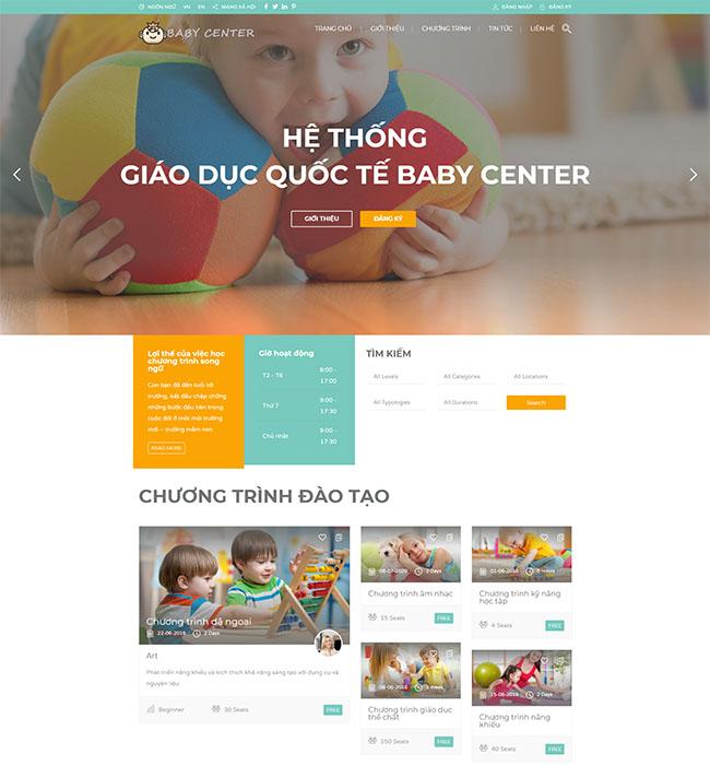 Thiết kế web giao dục, trường học cần gì?