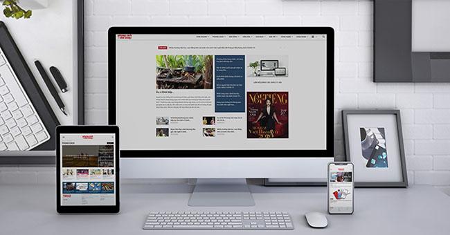 Hướng dẫn thiết kế web tin tức thu hút triệu view