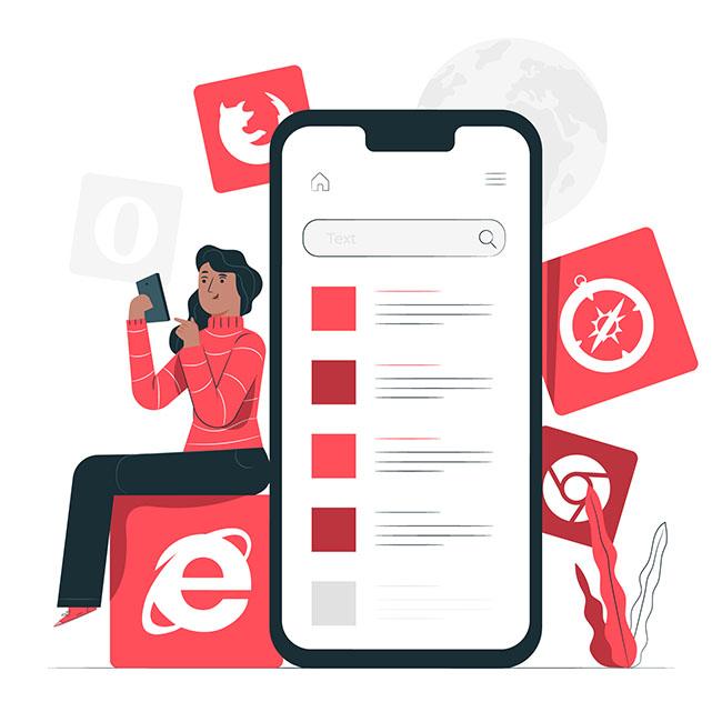 Xây dựng web ứng dụng chuẩn responsive, người dùng dễ quản lý