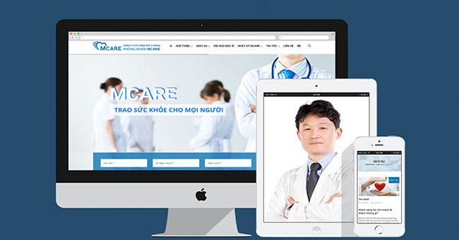 Bật mí những tiêu chí cần thiết khi thiết kế website bệnh viện