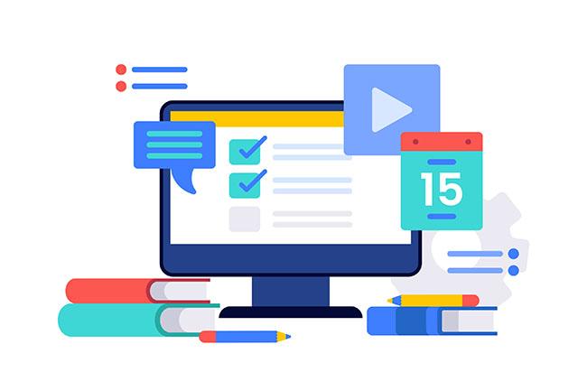 Các module, chức năng trong thiết kế website quản lý thư viện