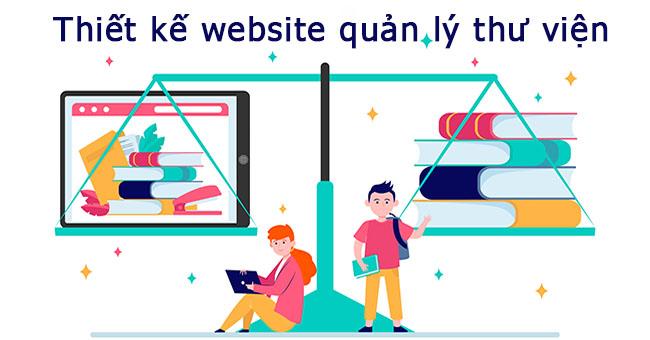 Thiết kế website quản lý thư viện và chức năng cần thiết