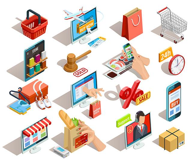 Chức năng cở bản cảu thiết kế website thương mại điện tử