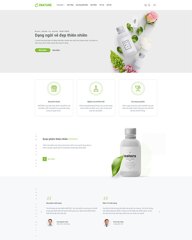 Thiết kế website bán mỹ phẩm - Kênh tiếp thị hiệu quả