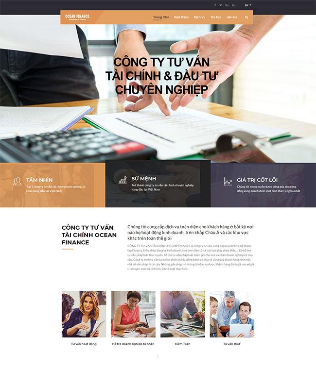 Thiết kế website chứng khoán và các chức năng