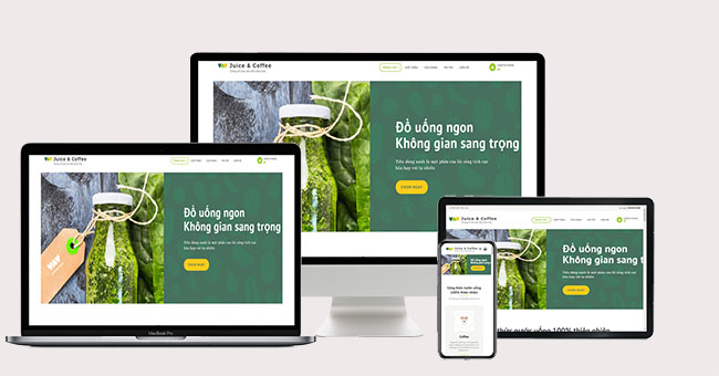 Thiết kế website nước uống: 6 Yếu tố quan trọng