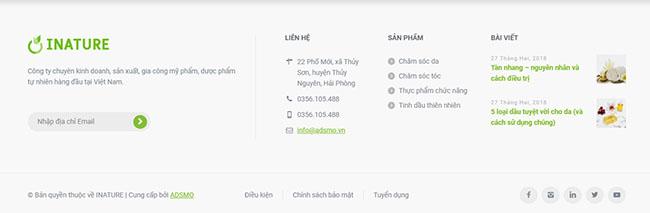 Thiết kế website dược chuẩn SEO