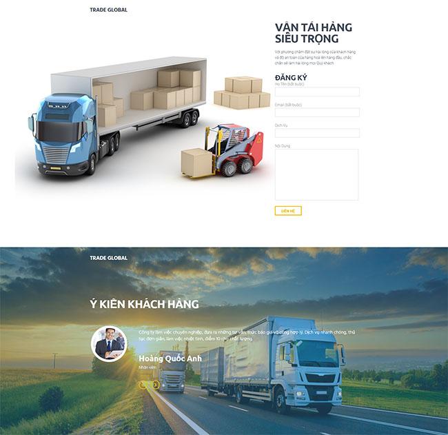 Thiết kế website kho bãi chuyên nghiệp tại ADSMO