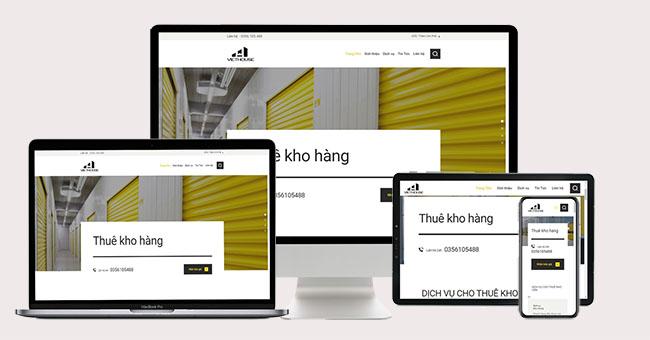 Thiết kế website kho bãi tăng doanh thu vượt bậc