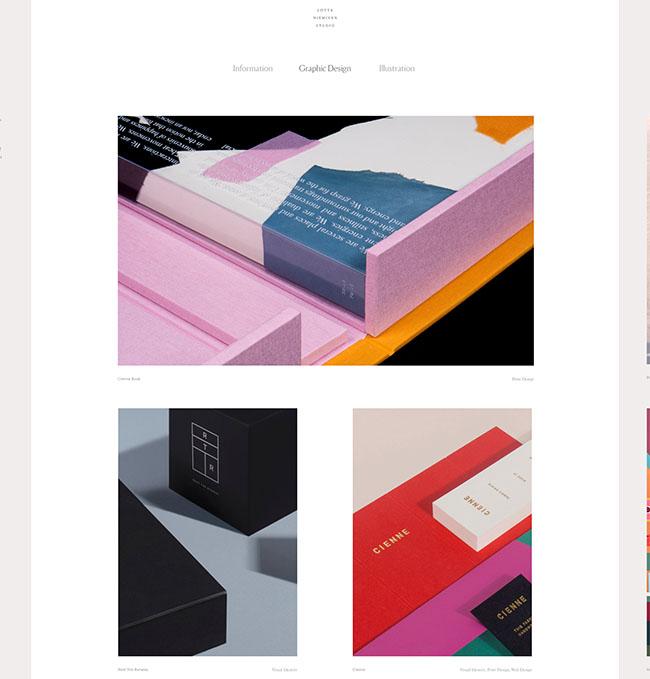 Thiết kế website nghệ thuật Lottanieminen