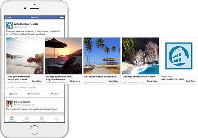 Ứng dụng của Dynamic Ads vào lĩnh vực du lịch