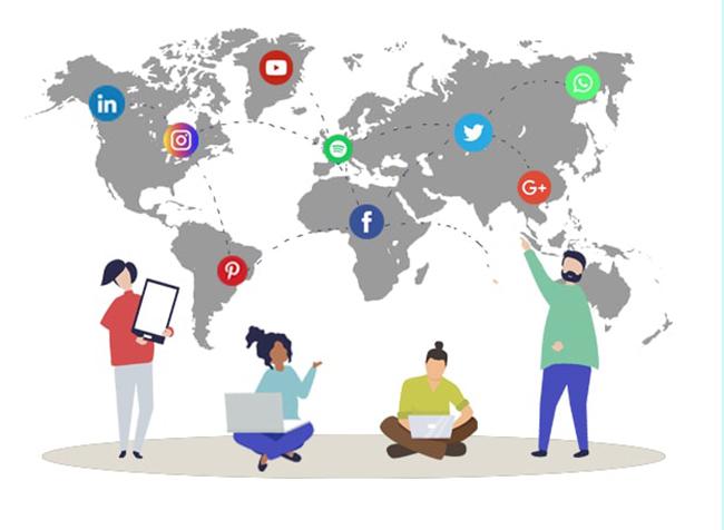 Sử dụng các mạng xã hội