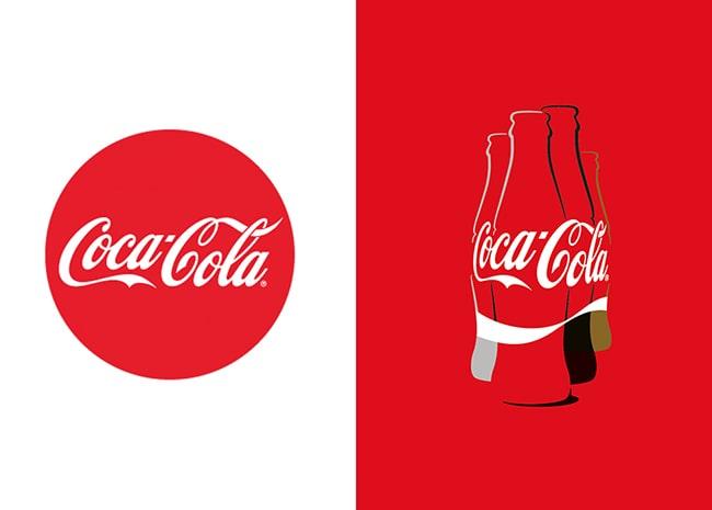 Bộ nhận diện thương hiệu Coca Cola