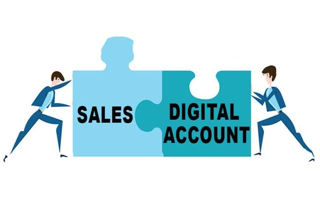 Digital Account vs Sales