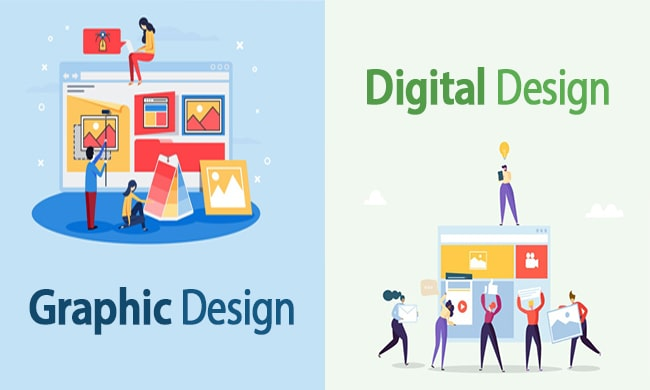 Digital Design vs Graphic Design