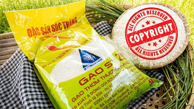 Gạo ST25 - Bảo hộ thương hiệu