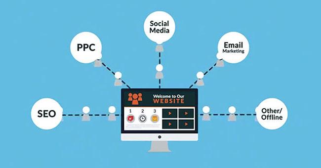 """Cuộc chiến giữa """"Website và Social media"""""""