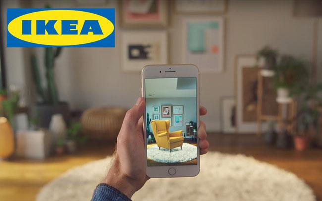 IKEA ứng dụng công nghệ thực tế tăng cường trong Marketing