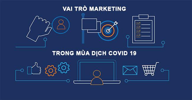 Vai trò của Marketing như thế nào trong mùa dịch COVID-19?